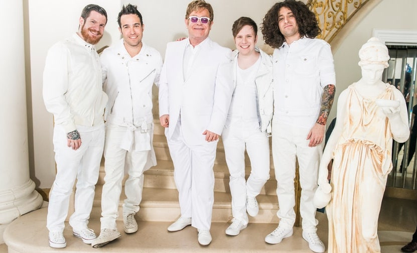 Fall out Boy Elton John