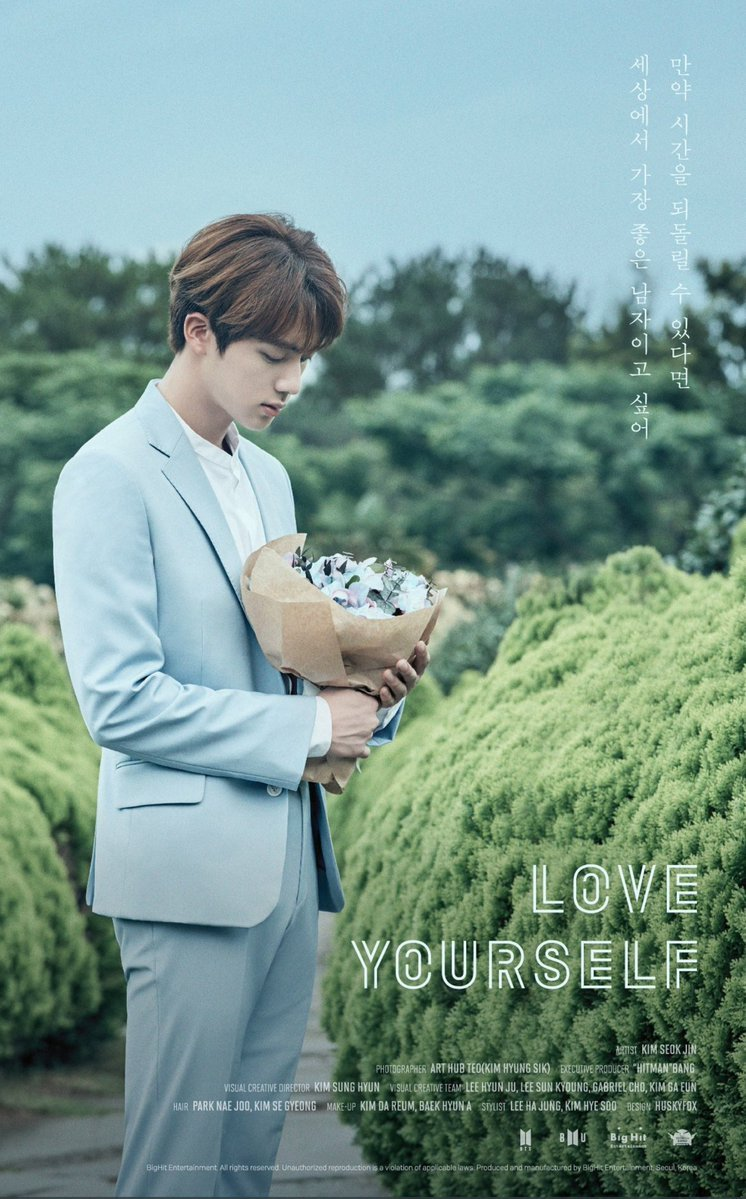 See All 7 Bts Teaser Posters For The Love Yourself Series And