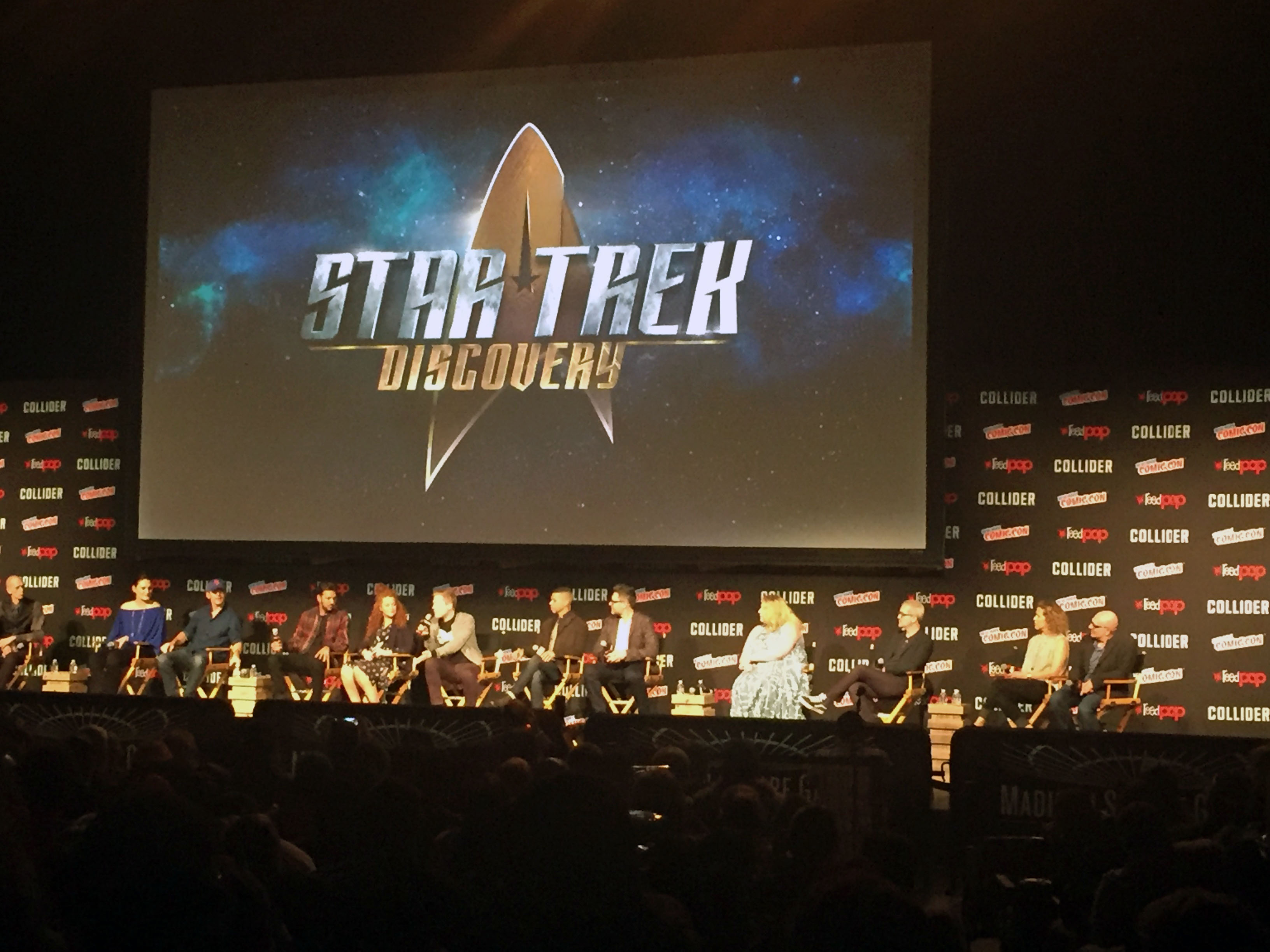 Stars in Her Eyes: Star Trek: Discovery Panel – New York Comic Con ...