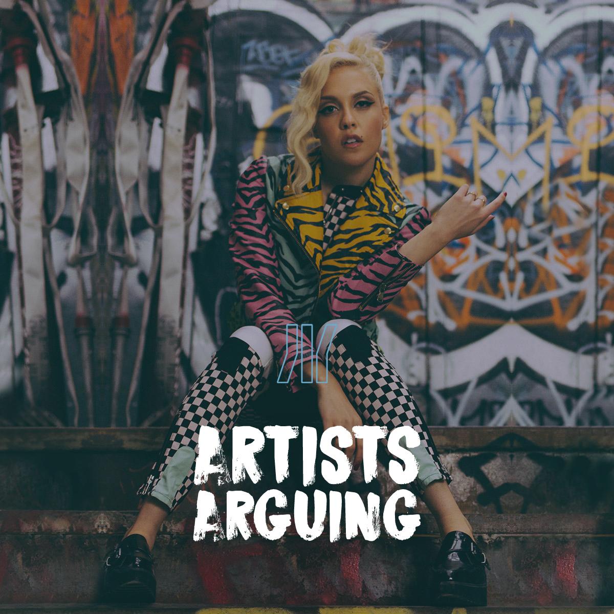 Artists Arguing on idobi Radio
